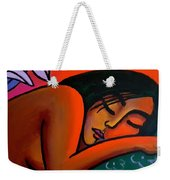 Steamy Night Weekender Tote Bag