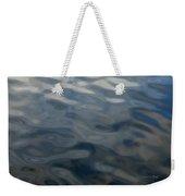 Steel Blue Weekender Tote Bag by Donna Blackhall