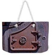Steel Door Weekender Tote Bag