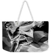 Steel Men Fighting 4 Weekender Tote Bag