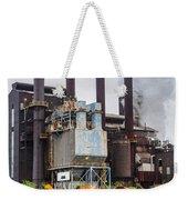 Steel Mill Weekender Tote Bag