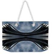 Steel Waves Weekender Tote Bag