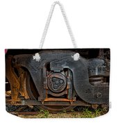 Steel Wheel Of Progess Weekender Tote Bag