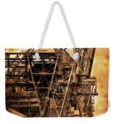 Steelmill Boatdock Cranes Detroit Weekender Tote Bag