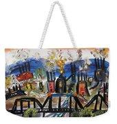 Steeltown U.s.a. Weekender Tote Bag