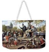Steen: Quack, 17th Century Weekender Tote Bag