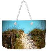 Steep Beach Path Weekender Tote Bag