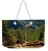 Steep Manitou Incline And Barr Trail Weekender Tote Bag