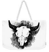 Steer Skull Tee Weekender Tote Bag