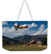 Steerman Bi-plane Weekender Tote Bag
