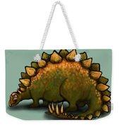 Stegosaurus Weekender Tote Bag