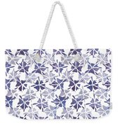 Stencilled Floral Weekender Tote Bag by Jocelyn Friis