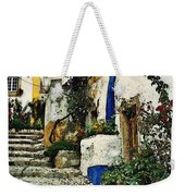 Step Street In Obidos Weekender Tote Bag