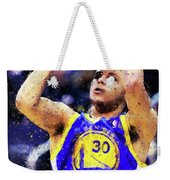 Steph Curry, Golden State Warriors - 19 Weekender Tote Bag