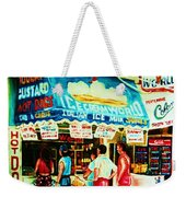 Stephanies Icecream Stand Weekender Tote Bag