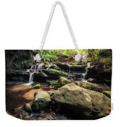 Stepping Cascade - Leura, Blue Mountains, Australia. Weekender Tote Bag