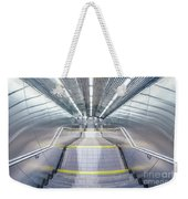 Stepping Down To The Underground Weekender Tote Bag