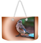 Stepping Out Into The Spotlight Weekender Tote Bag by Sue Melvin