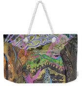 Stepping Out Weekender Tote Bag