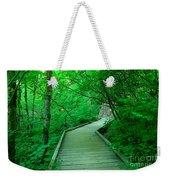Steps Into Paradise Weekender Tote Bag