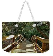 Steps To Adventure Weekender Tote Bag