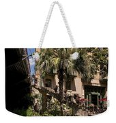 Steps To The Riverwalk Weekender Tote Bag