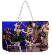 Stepsister Ballerinas En Pointe And Guests Ballroom Dancing In B Weekender Tote Bag