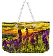 Steptoe Lupine  Weekender Tote Bag