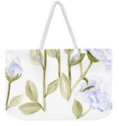 Sterling Roses Weekender Tote Bag