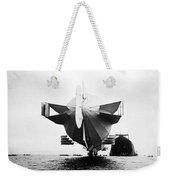 Stern Of Zeppelin Airship - 1908 Weekender Tote Bag