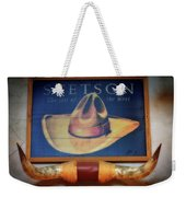 Stetson The Hat Of The West Signage Weekender Tote Bag