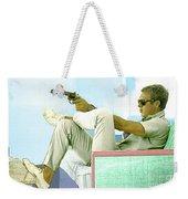 Steve Mcqueen, Colt Revolver, Palm Springs, Ca Weekender Tote Bag
