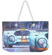 Steve Mcqueen Le Mans Porsche 917 01 Weekender Tote Bag