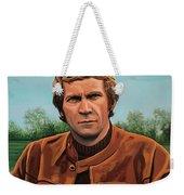 Steve Mcqueen Painting Weekender Tote Bag