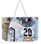Steve Mcqueens Porsche 917k Le Mans Weekender Tote Bag
