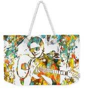 Steve Vai Paint Splatter Weekender Tote Bag