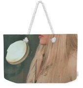 Stevie Nicks In Profile Weekender Tote Bag