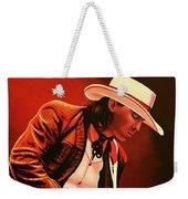 Stevie Ray Vaughan Painting Weekender Tote Bag