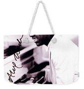 Stevie Wonder Autographed Weekender Tote Bag