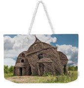 Lean On Me - Stick House Series #3 Weekender Tote Bag
