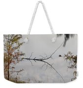 Stick In The Water Weekender Tote Bag