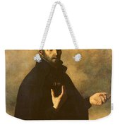 St.ignatius Loyola Weekender Tote Bag by Francisco de Zurbaran