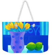 Still Life At Window IIi Weekender Tote Bag