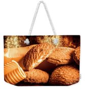 Still Life Bakery Art. Shortbread Cookies Weekender Tote Bag