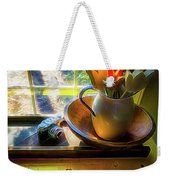 Still Life By Window Weekender Tote Bag