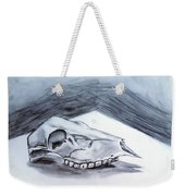Still Life Drawing Cow Skull 02 Weekender Tote Bag