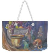 Still Life Honey Bear Weekender Tote Bag