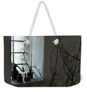 Still Life Of The Window Of A Villa Weekender Tote Bag