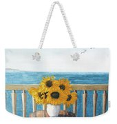 Still Life On A Patio Weekender Tote Bag