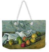 Still Life Weekender Tote Bag by Paul Cezanne